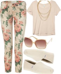Floral Jeans ~ 1