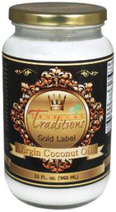 Gold Label Virgin Coconut Oil - 32 oz.