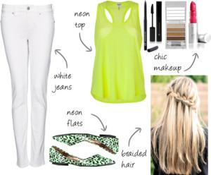 Neon/White 3.