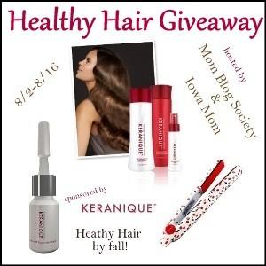 MaeGal healthy hair keranique
