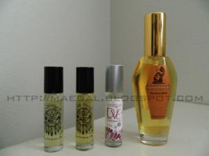 auric blends perfumes via maegal