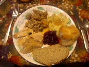 thanksgiving plate maegal