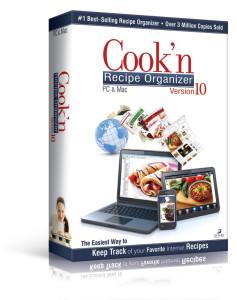 cook'n recipe organizer maegal