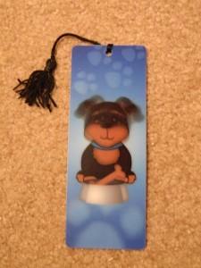 rottweiler bookmark maegal