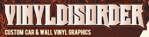 vinyl disorder logo maegal
