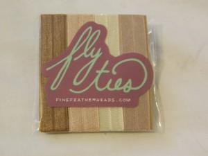 fly ties hair tie package maegal