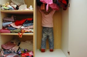 girl in the wardrobe