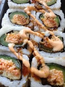 spicy jalapeno sushi on maegal