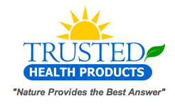 trusted health products logo on MaeGal