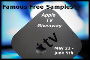 famous free samples giveaway on MaeGal
