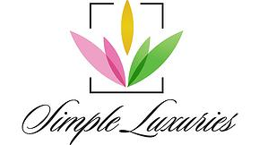 simple luxuries logo on maegal