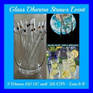 glass dharma event logo on MaeGal