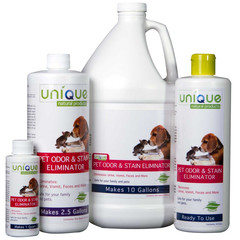 unique pet odor and stain remover  on maegal
