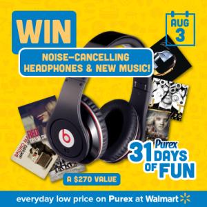 purex day three beats headphones MAEGAL