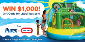 littletikes and purex giveaway event MAEGAL