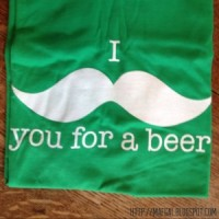 i mustache you for a beer MAEGAL