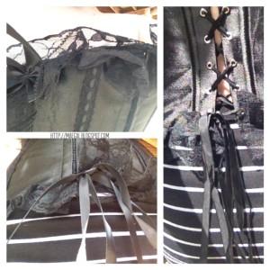 corset details MAEGAL