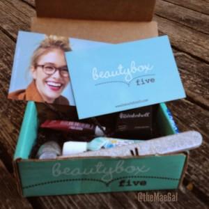 beauty box five september MAEGAL