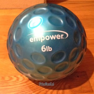 empower medicine ball  6lb MAEGAL