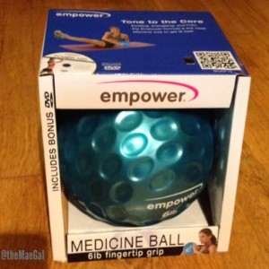 empower medicine ball  MAEGAL