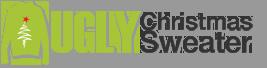 ugly christmas sweater logo MAEGAL