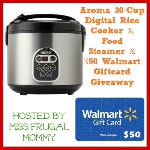 Aroma and Walmart Giveaway MAEGAL