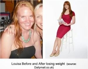Louisa Weight Watches Before and After | maegal.blogspot.com