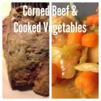 Corned Beef & Cooked Vegetables   maegal.blogspot.com