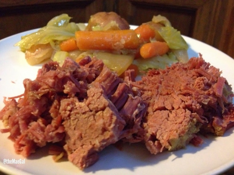 corned beef brisket and vegetables two | maegal.blogspot.com