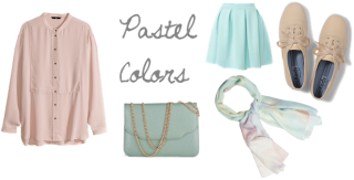 Pastel Colors Spring Fashion 2014 Trend| maegal.blogspot.com