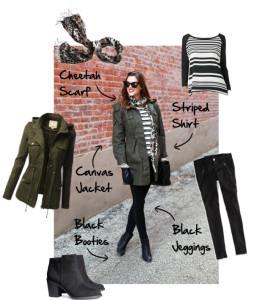 Get the Look -- Military Stripes | maegal.blogspot.com