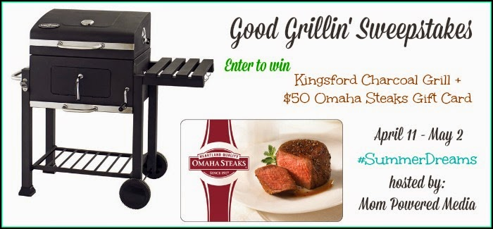 Good Grillin' Sweepstakes Ends 5/2 | maegal.blogspot.com