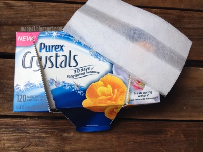 Purex Crystals Dryer Sheets | maegal.blogspot.com
