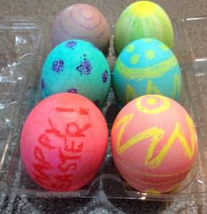 Dyed Easter Eggs Hardboiled 2 | maegal.blogspot.com