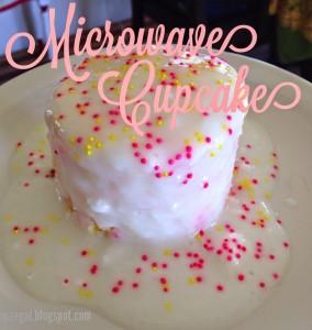 Microwave Cupcake | maegal.blogspot.com