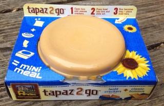 Tapaz 2 Go Hummas and Lentil Crackers| maegal.blogspot.com