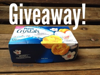 Purex Crystals Dryer Sheets Giveaway | maegal.blogspot.com
