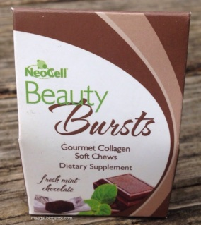 Neocell Beauty Bursts Fresh Mint Chocolate | maegal.blogspot.com