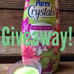 Purex Crystals: Coupon Giveaway | maegal.blogspot.com