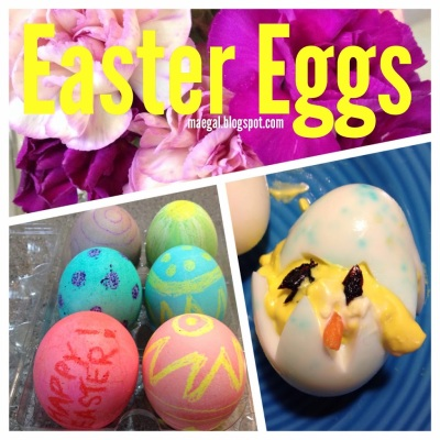 Tasty Tuesday: Easter Eggs, Dyed and Deviled | maegal.blogspot.com