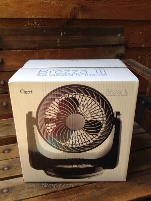ozeri brezza iii dual oscillating desk fan | maegal.blogspot.com