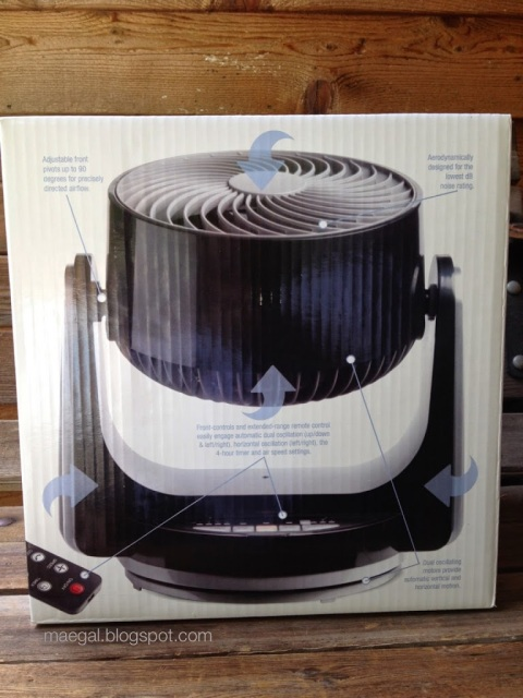 ozeri desk fan package information | maegal.blogspot.com