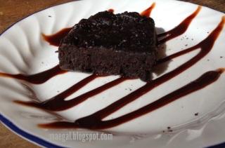 chocolate cake batter fudge | maegal.blogspot.com