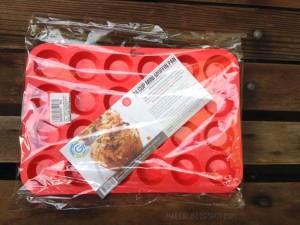 grazia silicone mini muffin pan | maegal.blogspot.com
