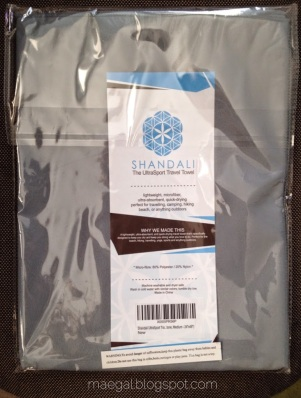shandali travel towel | maegal.blogspot.com