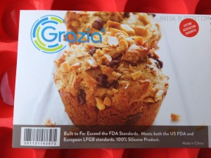 grazia silicone mini muffin pan info 1 | maegal.blogspot.com
