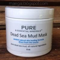 pure dead sea mud mask | maegal.blogspot.com