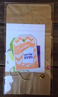 spellbinder celebrations best day ever treat bag | maegal.blogspot.com