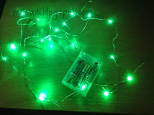 green micro led light string by rtgs products