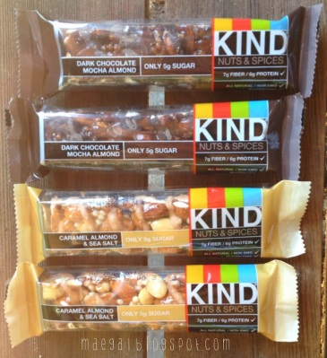 KIND Healthy Snack Bars Nuts and Spices | maegal.blogspot.com